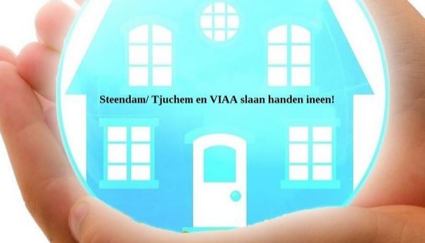 Steendam/Tjuchem en viaa slaan de handen ineen