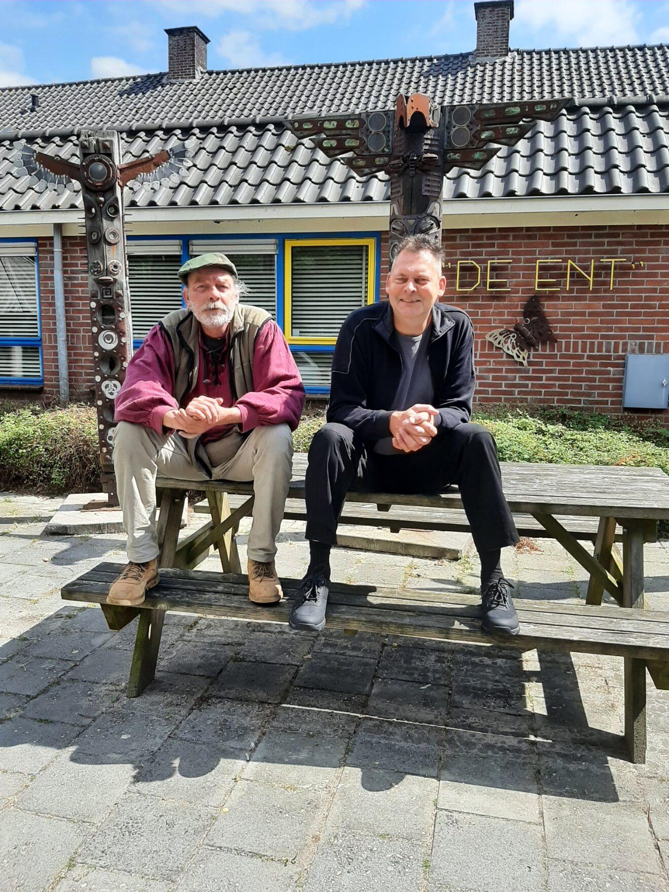 Henk Bleker en Jan